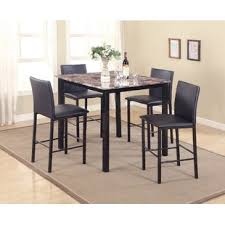 noyes 5 piece counter height dining set
