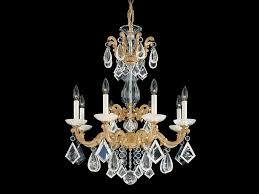 chandelier with swarovski crystals la scala rock crystal chandelier by schonbek