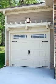 walkthru garage doors iron trellis over garage door trellis design walk through garage doors how much