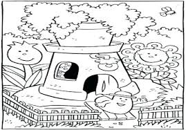Little House Coloring Pages Denconnectscom