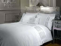 white king size duvet cover and silver sets org with covers decorations