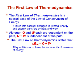 heat and the first law of thermodynamics ppt