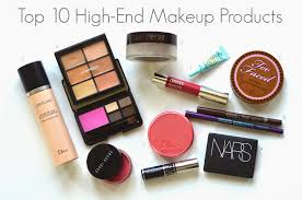 top 10 high end makeup items