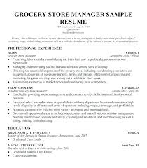 Grocery Store Manager Job Description For Resume Best Of Resume For Store Manager Sample Grocery Store Manager Resume Resume