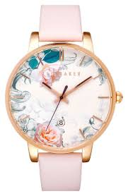 So in live with this adorable watch from Ted Baker! Lush blooms in ...