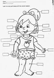 Small Picture All About Me Coloring Page Best Of Parts Of The Body Coloring