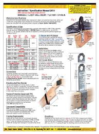 Z Purlin Weight Chart Super Anchor Safety 1016 Super Z Purlin Anchor Kit 6 Pack
