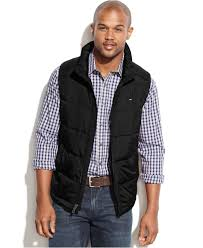 Lyst - Tommy hilfiger Big And Tall Performance Puffer Vest in ... & Gallery Adamdwight.com