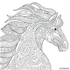 Coloring Pageshorses Full Size Of Printable Horse Colouring Pages