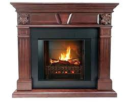 realistic electric fireplace insert most