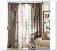 double curtain rod set white curtain home decorating ideas double rod curtain