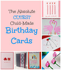 Homemade Gift Vouchers Templates Best Homemade Birthday Cards For Kids To Create How Wee Learn
