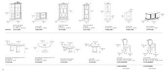 Bedroom Furniture Dimensions  PierPointSpringscom - American standard bedroom furniture