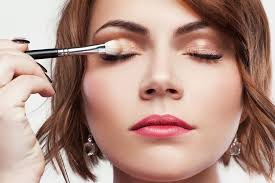 to keep your eyeshadow from sliding off your eyes rub a pea sized amount of liquid primer on your eyelids don t have any primer handy