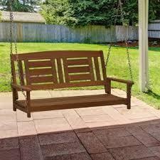 Cozy swing chairs garden ideas Cushions Arianna Hardwood Hanging Porch Swing Wayfair Porch Swings Youll Love Wayfair