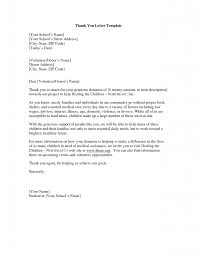 Business Letter Examples Thank You Free Download Resume Daily