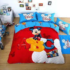 mickey mouse full size comforter set mickey mouse duvet set luxury bedding sets red mickey mouse