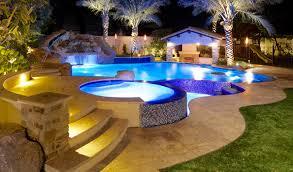Swimming Pool Design Phoenix Landscaping Design Pool Builders