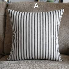 striped throw pillows. Plain Throw Nordic Style Striped Throw Pillows For Couch Modern Minimalist Plaid Decorative  For Striped Throw Pillows F