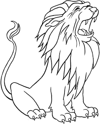 Small Picture Lion Coloring Pages Coloring Pages Kids