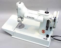 Singer White Sewing Machine