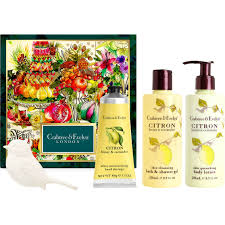crabtree evelyn citron honey and coriander deluxe gift set