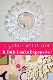 Diy Mirror Best 25 Mirror Crafts Ideas On Pinterest Mirror Ideas Spoon