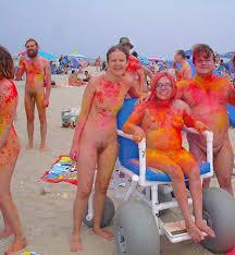 Angela Anderson Visits Haulover Nude Beach on Vimeo