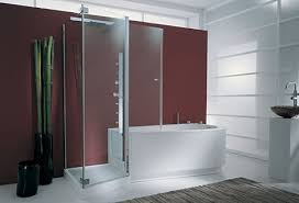 genesi tandem bath shower Tub Shower Combo from Genesi the Tandem combo for  two