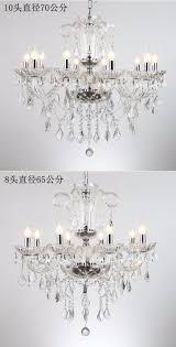 Us 3864 16 Offdeluxe Kristall Kronleuchter Moderne Kronleuchter Kristall Silber Kronleuchter Chrom Finish Led Luxus Kristall Kronleuchter Kerze