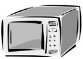 microwave clipart. microwave clip art - image #23763 clipart