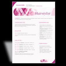 sample hair stylist resume sample resumes hairdressing resume hair stylist sample resume