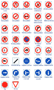 Road Signs Chart India Bathindapolice Services Punjab