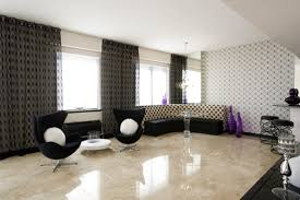 Italian Marble Flooring For Modern Living Room