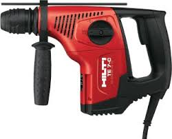 harbor freight hammer drill. bosch has rotary hammers for about $300. i\u0027m sure harbor freight some $1. ;-) either option involves risk. the hilti will work. hammer drill