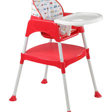 plastic baby high chair. 3 in 1 baby high chair \u2013 red plastic h