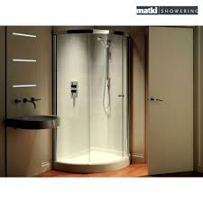 Exellent Curved Shower Enclosures Uk Matki Original Radiance Offset With Decor
