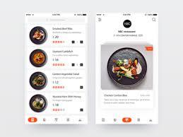 restaurant menu design app pin on ui design app