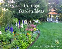 Small Picture Cottage Garden Ideas sunnysimplelifecom The Blog Pinterest