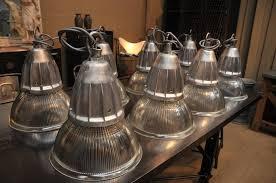 set of 20 french vintage industrial holophane pendant lights sold antique pendant lighting
