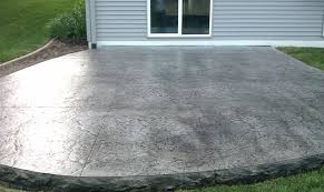 Worthy Stamped Concrete Patio Pictures J46S In Rustic Home Decor