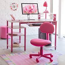 kids computer desk pink