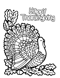 Thanksgiving Coloring Page Viettiinfo