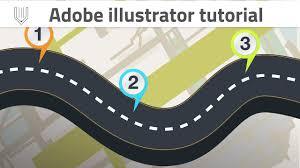 Adobe Illustrator Tutorial Road Infographic Template Design