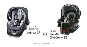 evenflo embrace 35 infant car seat how to install base