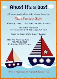 Baby Shower Invitation Backgrounds Free Adorable Baby Shower Invitation Template Nautical Sailboat Baby Boy Baby Of