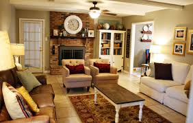 How To Arrange Living Room Furniture With Fireplace And TV For Home Ideas