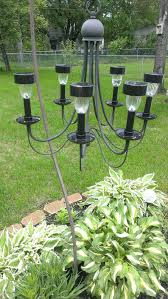 outdoor solar chandelier a chandelier from a thrift into a outdoor solar light chandelier hangs