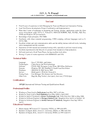 Device Test Engineer Sample Resume Resume Cv Cover Letter