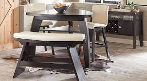 dark dining room furniture. wonderful furniture noah chocolate 4 pc bar height dining room with vanilla barstools with dark furniture